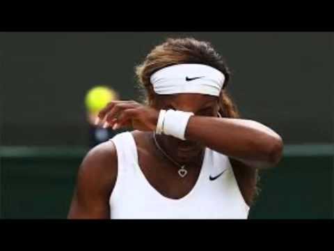 Ill Serena Williams Exits From Wimbledon 2014 Doubles Match