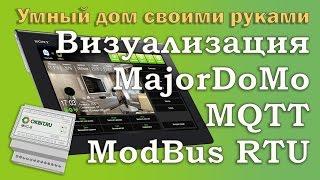 Умный дом своими руками. Шлюз MQTT - Modbus RTU для взаимодействия с MajorDoMo