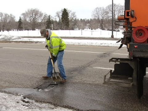 Potholes popping up in northwest metro