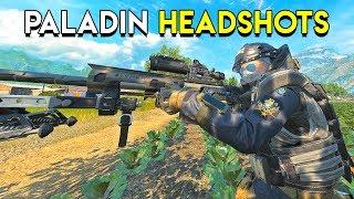 PALADIN HEADSHOTS - Blackout
