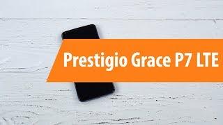 Распаковка смартфона Prestigio Grace P7 LTE / Unboxing Prestigio Grace P7 LTE
