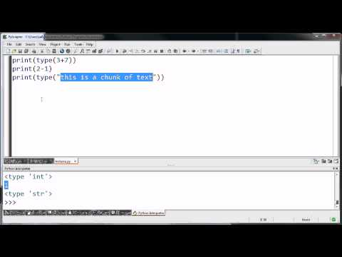 Introduction to Programs Data Types and Variables
