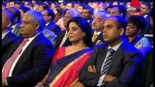 EOTY - Chief Gest Speach Sirasa TV 28th April 2017