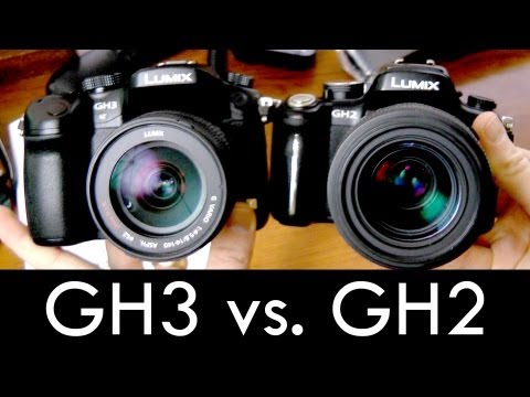 New Panasonic GH3 comparison vs. GH2