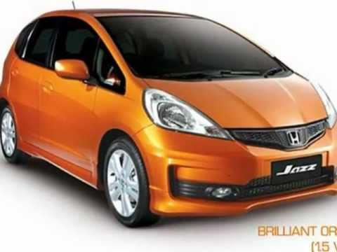 New Honda Jazz Philippines Colors