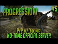 PROGRESSION | Official PvP No-Tame Server w/ Yocimir | S2E5 - ARK Survival Evolved