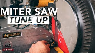 Miter Saw Tune Up and Maintenance
