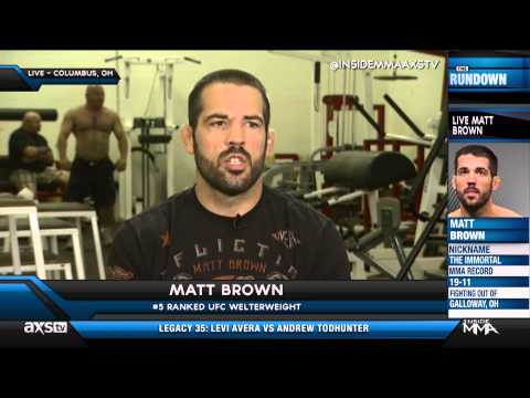 How Has Matt Brown Prepared for Robbie Lawler?