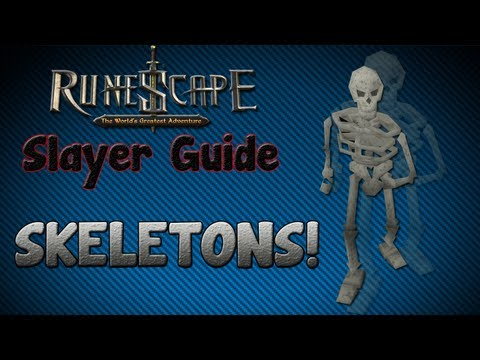 """Runescape 07″ – Slayer guide #1: Skeletons"