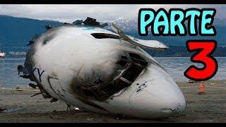 🔴 Caixa Preta 3 - As últimas palavras dos pilotos em queda de aviões - PARTE 3