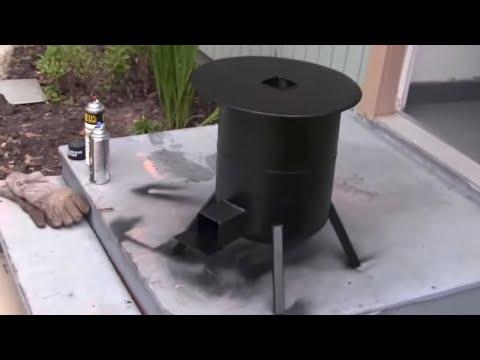 propane tank rocket stove  3/3