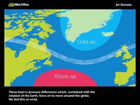 What is the jet stream and how does it work? - YouTube