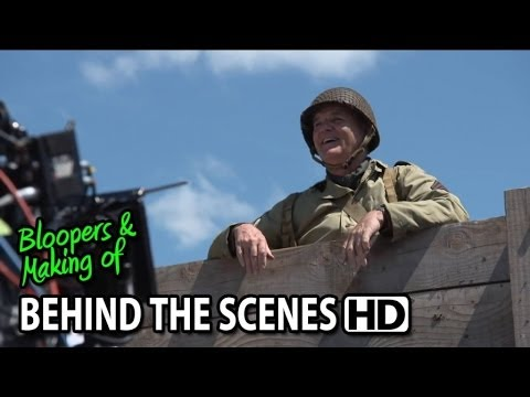 Monuments Men (2014) Making of & Behind the Scenes (Part2/2)