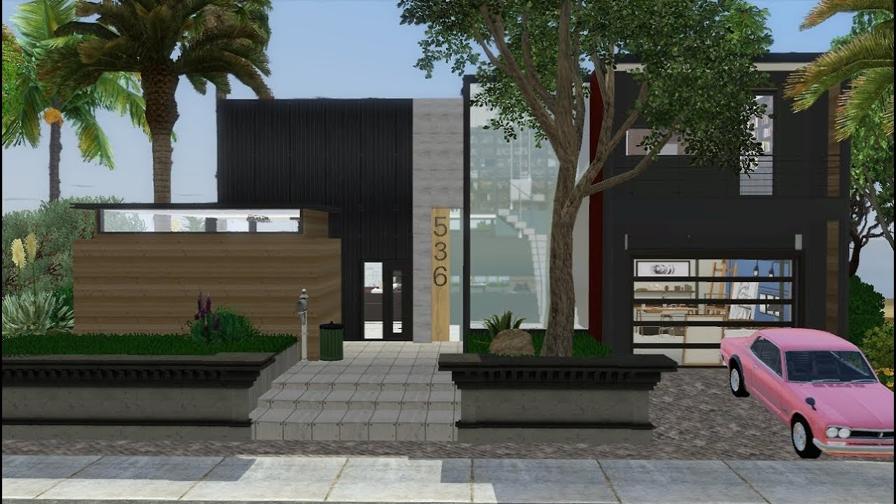 Sims 3 Modern Beach House Featuring MarcussSims91 DOWNLOAD YouTube