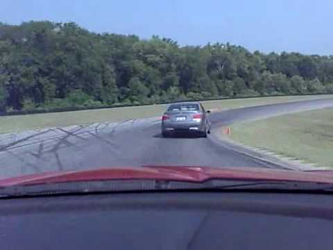 RX-8 vs. 500 HP BMW M5 at VIR. Mazda RX-8 wins. Music Videos