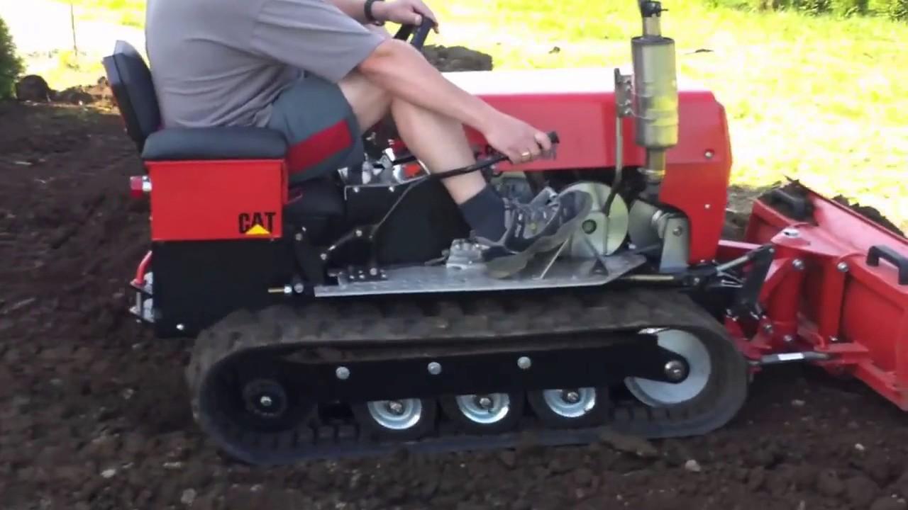 Гусеничный мини-трактор своими руками 8