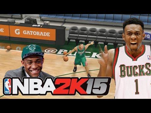 NBA 2K15 JULIUS RANDLE ROOKIE PREVIEW! Modded NBA 2K14 ... Jabari Parker Nba 2k14