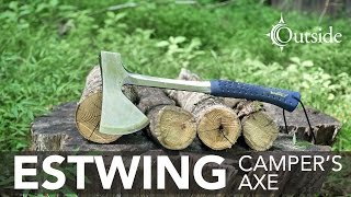 Estwing Camper's Axe - E44A Field Test and Review