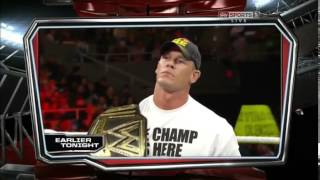 WWE Monday Night Raw 06/05/2013 HDTV Español Latino [COMPLETO]