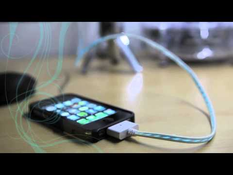 Brand New: The Original Flow Charge - LED Mobile Phone Charger
