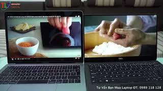 So Sánh 2 Máy Tính Hót Nhất 2018 Laptop Dell XPS 13 9370 Và Macbook Pro 13 Retina
