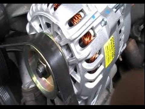 How to Replace an Alternator on a 1999 - 2004 Ford Mustang 3.8L V6