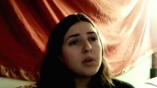 امريكية تغني بالعربية جميل جدا American Girl