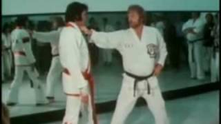 Elvis Presley and his passion for karate.