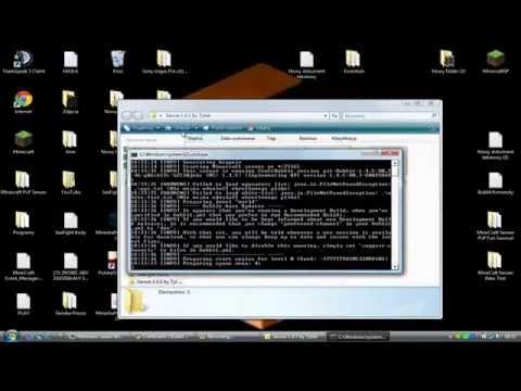 Minecraft Serwer Bukkit 1.7.4 Poradnik