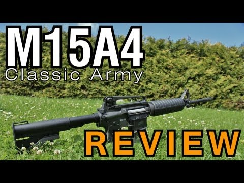 CA M4 Softair Review (GsP Airsoft) GERMAN