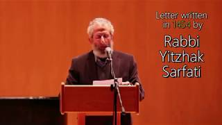 Video: Oh Jews. It is better you live under Muslims, than Christians - Yitzhak Sarfati