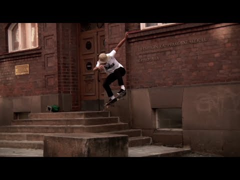 Epic Skateboard Session on the Streets of Helsinki Finland