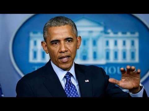 Obama: no imminent air strikes but military advisers in Iraq