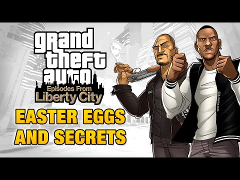 Gta Episodes From Liberty City Easter Eggs And Secrets video