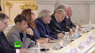 Путин на заседании Совета по культуре и искусству