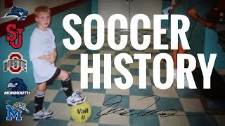 HOW A COLLEGE SOCCER PLAYER RECEIVED 2 FULL-RIDE SCHOLARSHIPS (Soccer History) | VLOG 66