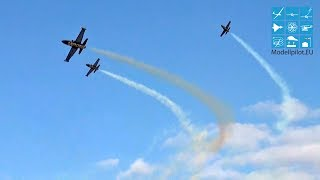 HORIZON JET-TEAM 3X AERO L-39 ALBATROS RC TURBINE JET FORMATION FLIGHT GERMAN CHAMPIONSHIP