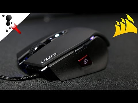 Corsair M65 PRO RGB Review (3360 Optical Sensor)