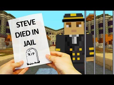 REALISTIC MINECRAFT - STEVE ALEX AND PET NITRO ESCAPES FROM PRISON