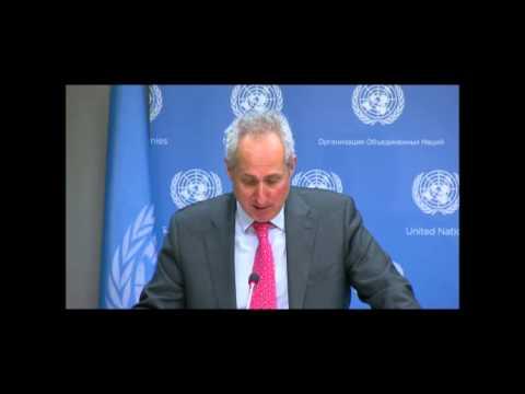 On Yemen, ICP Asks UN Spox of 31 Civilians Killed by Saudi Airstrike, Replacing Benomar