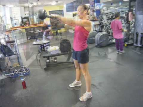 Kettlebell swing - Before & After - 8 weeks Image 1