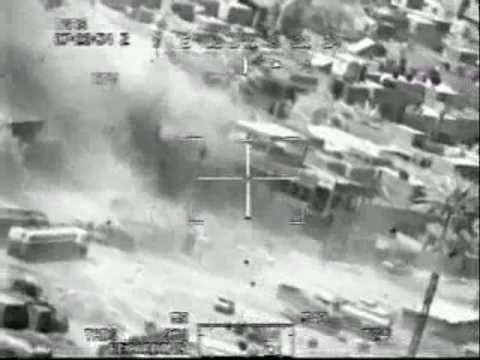 U.S Gunship taking out Targets in Afghanistan  (Warning Graphic video)