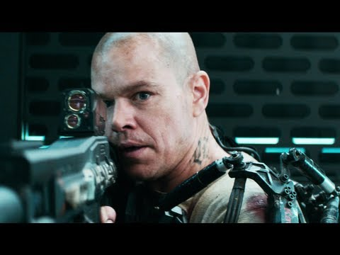 Elysium Trailer #2 2013 Official - Matt Damon Movie [HD]