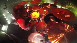 SLAYER Paul Bostaph - Hate Worldwide (Drum-Cam Footage 2014)