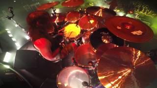 SLAYER Paul Bostaph - Hate Worldwide (Drum-Cam Footage 2014)