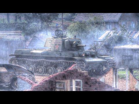 День танкиста 2016. Линия Сталина. Редчайший экземпляр танка КВ-1.
