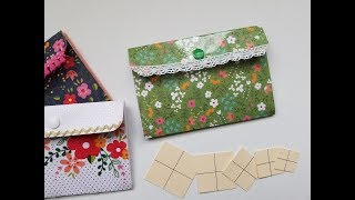 Snap Pouch: Laminating Sheets. CRAFT FAIR Item