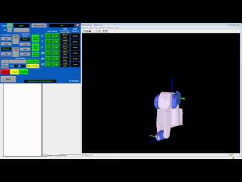 PLC Controlled Robots: Teaching a Robot using the MLX200 Unified Controls HMI
