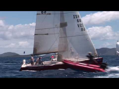 Perfect conditions for first day of BVI Spring Regatta