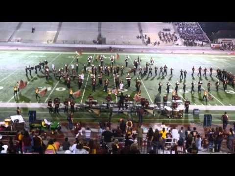 Donna High School Mighty Marching Redskin Band 08/29/14